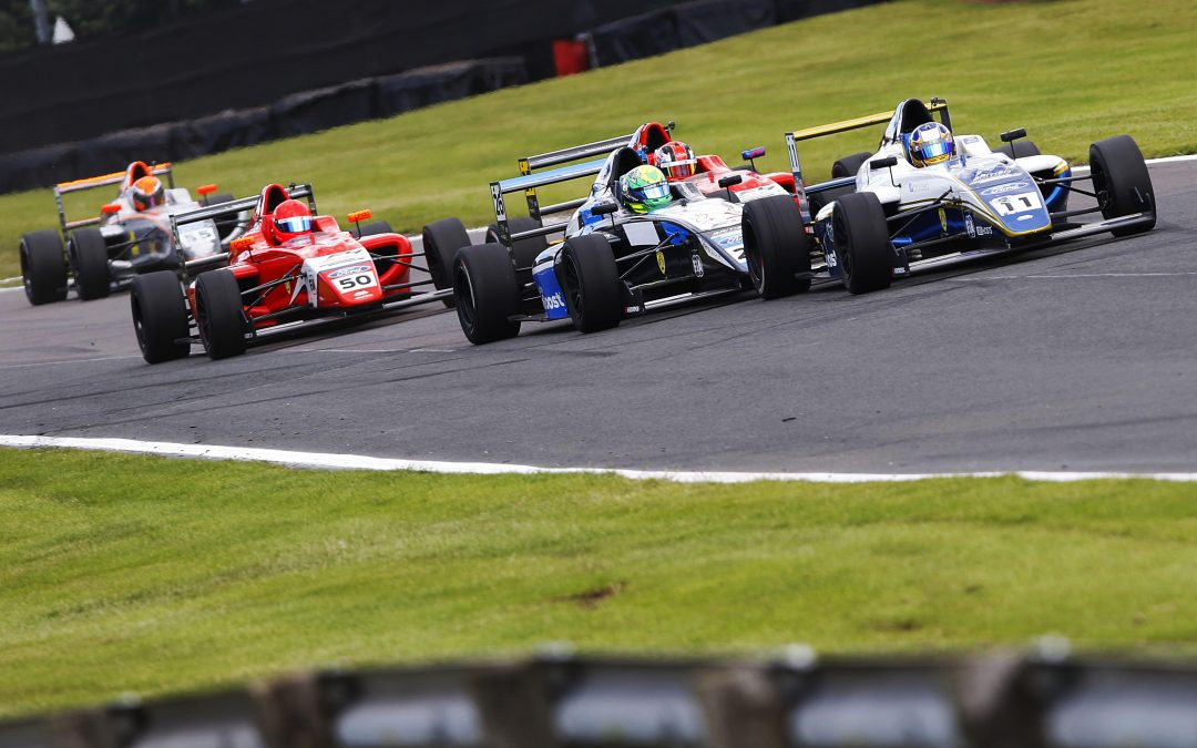 Double top six for Luke at Oulton Park