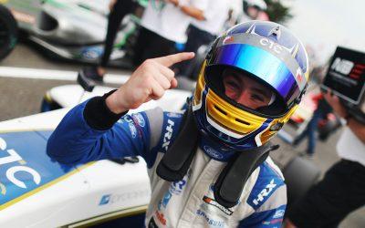 Luke battles hard for stunning Snetterton podium