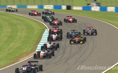 Luke takes early lead in new iRacing Trophy