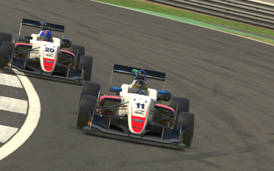 Another pole and solid iRacing Trophy points for Luke