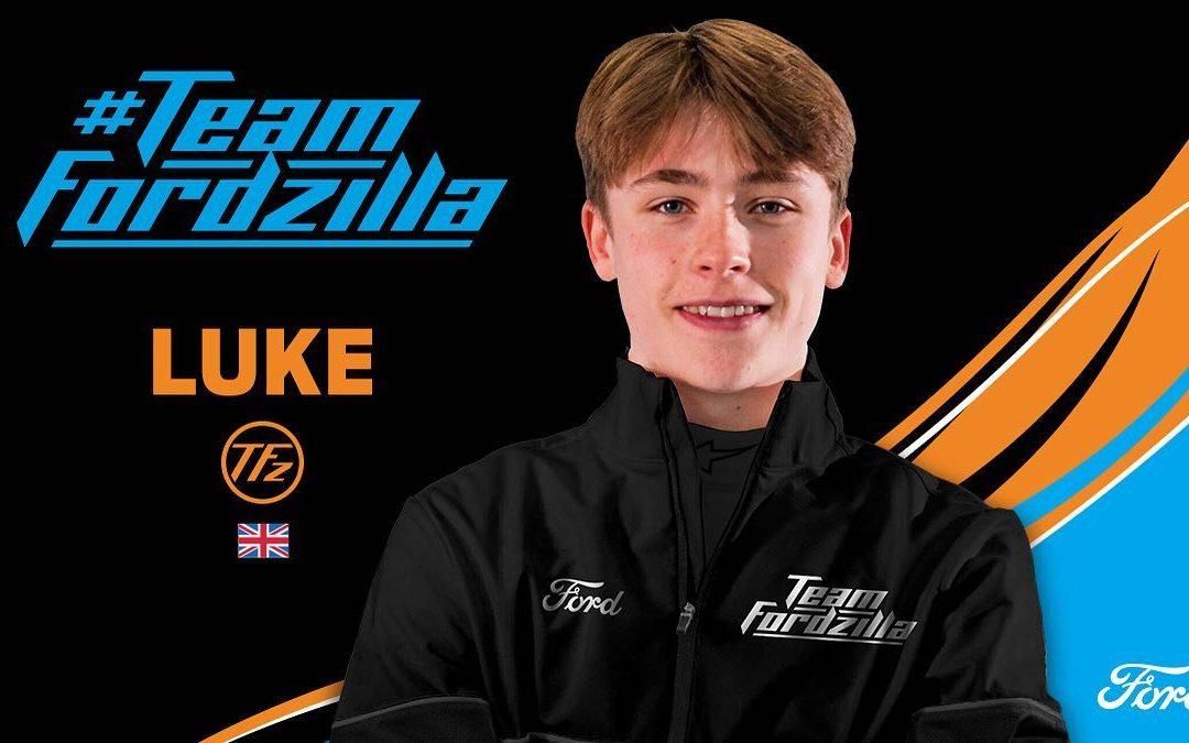Luke secures factory-backed sim racing deal