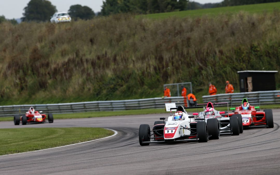 Luke extends points lead at high-speed Thruxton