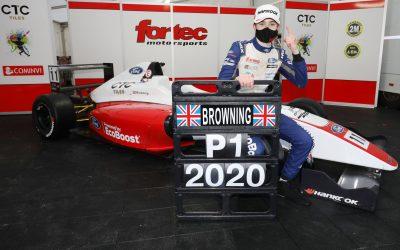 Luke crowned British F4 champion in dramatic finale